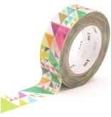 MT washi tape sankaku pink