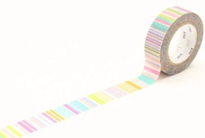 MT masking tape multi border pastel