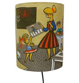 Huisteil creaties Muurlamp In de klas
