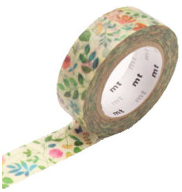 MT  MT washi tape ex watercolor flower