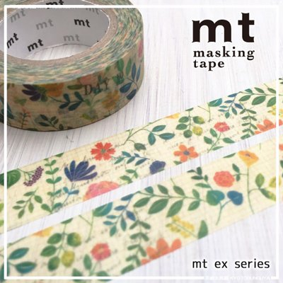 MT masking tape ex watercolor flower