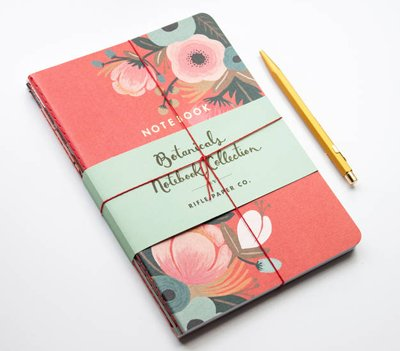 Notebook set Botanicals