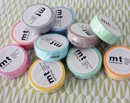 MT washi tape pastel gray