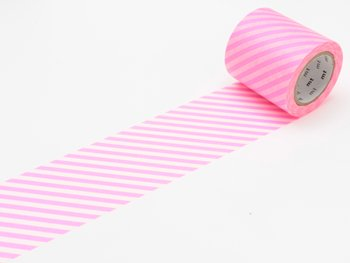 MT casa stripe shocking pink 50 mm