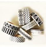 Masking tape art deco