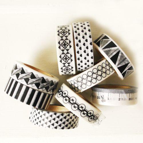 Masking tape tile