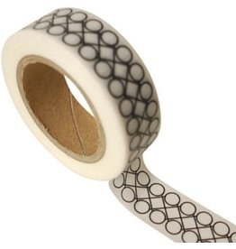 Masking tape retro circles