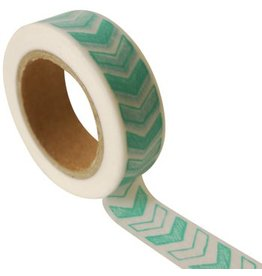Masking tape arrow blue