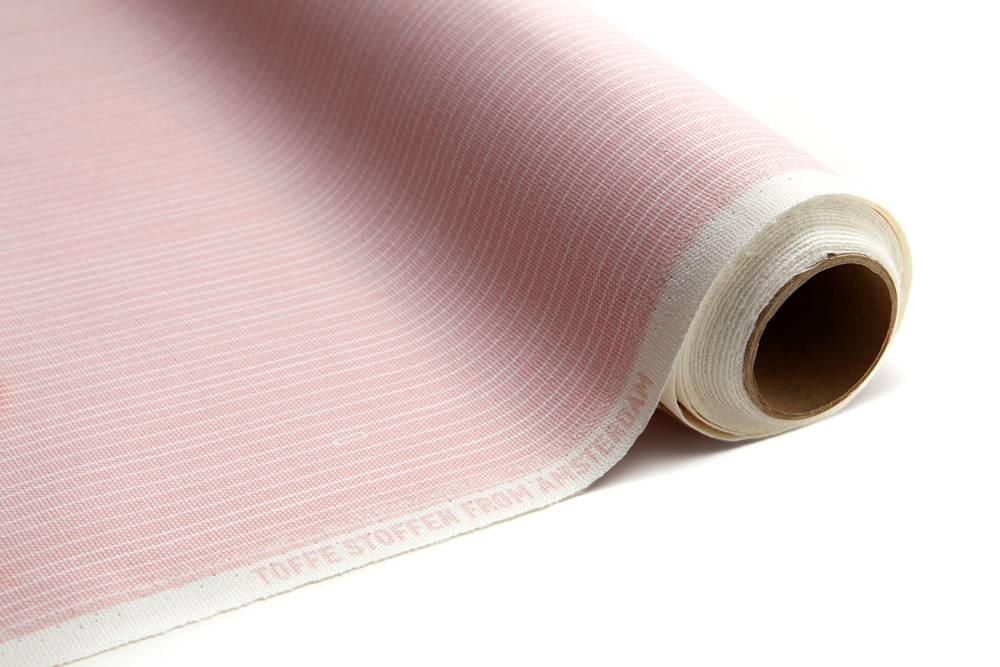 Toffe Stof per meter Soft Pink