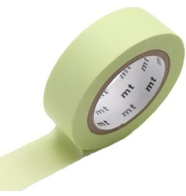 MT  MT washi tape pastel lime
