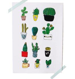 Kaart cactus love