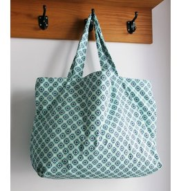 Zilte atelier Sling beach bag green