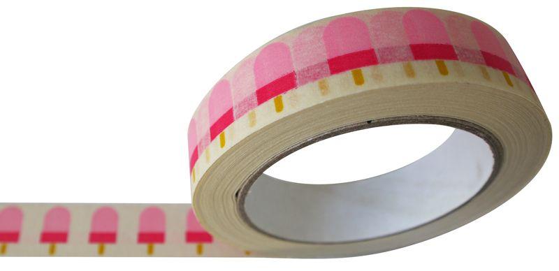 IJsjes tape eco papier