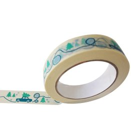 Engel Winterlandschap tape eco papier