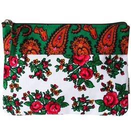Huisteil creaties Maxi Pouch Huisteil Roses