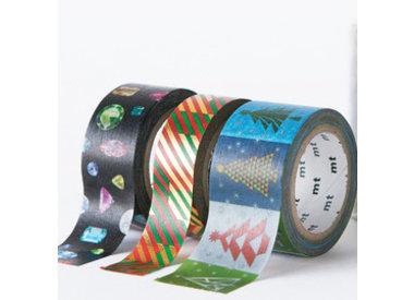 MT kerst washi tapes