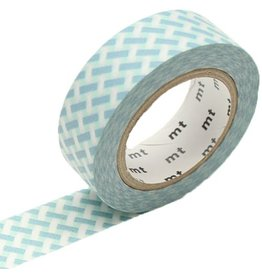 MT  MT masking tape net check blue