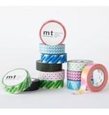 MT masking tape triangle and diamond pink