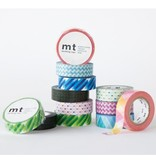 MT washi tape crystal green