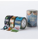 MT washi tape Kerstset 3