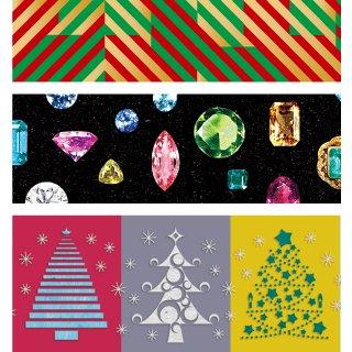 MT washi tape kerst jewel