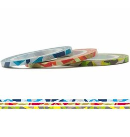 MT  MT washi tape slim set art 3 mm