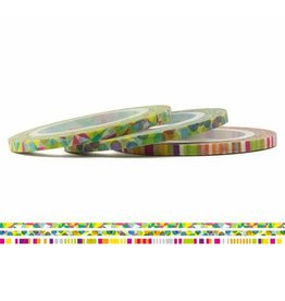 MT  MT washi tape slim set pop 3 mm