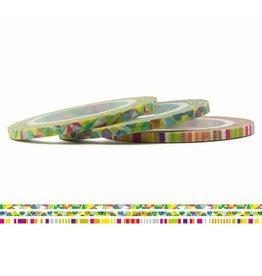MT  MT washi tape slim set pop 3 mm