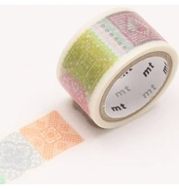 MT  MT washi tape fab crochet