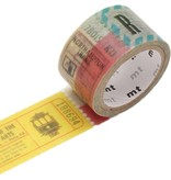 MT washi tape fab ticket