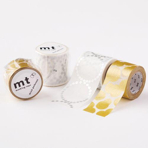 MT washi tape ex tambourine grande silver