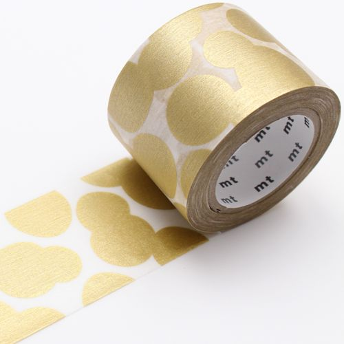 MT washi tape ex soda water gold