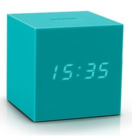 Ging-ko Click Clock cube gravity green