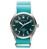 Horloge Pop Pilot classic sea green