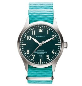 Pop Pilot Horloge Pop Pilot classic sea green