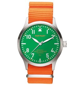 Pop Pilot Horloge Pop Pilot holiday orange