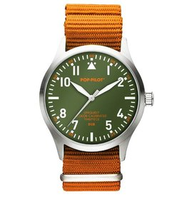 Pop Pilot Horloge Pop Pilot jungle orange