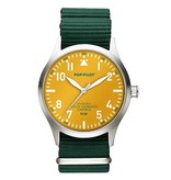 Horloge Pop Pilot jungle green