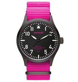Pop Pilot Horloge Pop Pilot neon pink