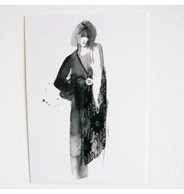 Tessa M. de Graaf Kaart Evening dress