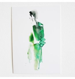 Tessa M. de Graaf Kaart Lady green