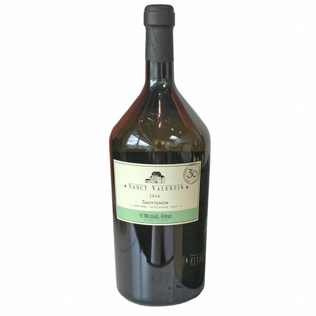 St. Michael Eppan Sauvignon Sanct Valentin 2016  ½ fles - Copy