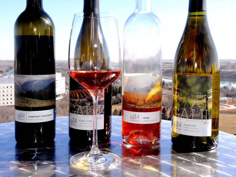 Galil Mountain Wine box Israel