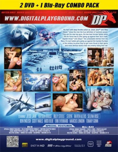 Digital Playground Top Guns (DVD/BLU-RAY Combo)