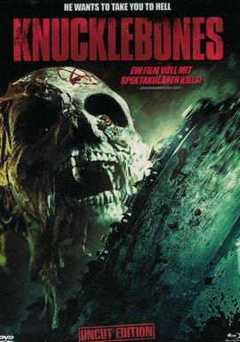SHOCK ENTERTAINMENT Knucklebones (Lim. Uncut Mediabook - Cover B) (DVD + BLURAY)