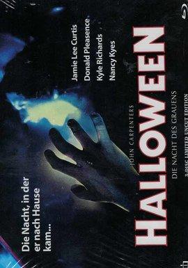 INCET PICTURES Halloween 1: Die Nacht des Grauens (Lim. Uncut Mediabook - Cover A) (DVD + BLURAY)