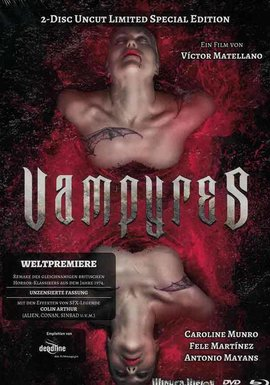 WICKED-VISION Vampyres (Lim. Uncut Mediabook - Cover A) (DVD + BLURAY)