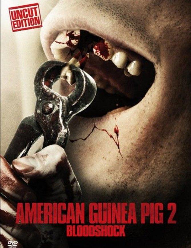 EXTREME American Guinea Pig 2 - Bloodshock (Lim. Uncut Mediabook - Cover D) (2 Discs) - limitiert auf 500 Stück