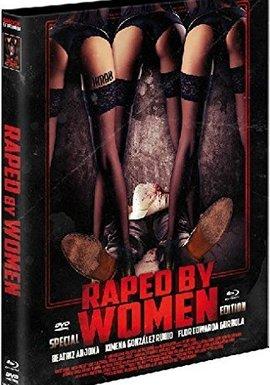SHOCK ENTERTAINMENT Raped by Women (Lim. Uncut Mediabook - Cover B) (DVD + BLURAY)