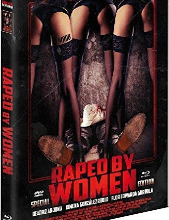 SHOCK ENTERTAINMENT Raped by Women (Lim. Uncut Mediabook - Cover B) (DVD + BLURAY) - limitiert auf 500 Stück